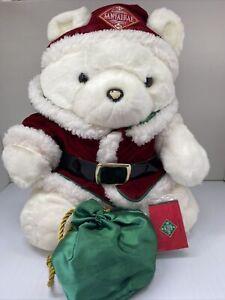 VTG 1998 Dayton Hudson Mrs. Santa Bear  SantaBear w/ Flipbook