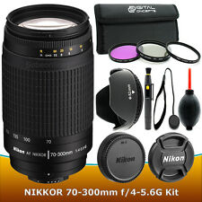 Nikon AF Zoom Nikkor 70-300mm f/4-5.6 G lens Filter Kit – Brand New