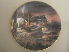 """HUNTER'S HAVEN collector plate TERRY REDLIN Hunter's Paradise #3  9 3/8"""""""