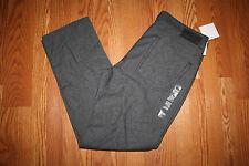 NWT Mens Calvin Klein Chrome Gray Herringbone Print 5 Pocket Pants 32 W 30 L