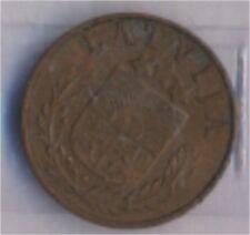 lettonie km-no. : 10 1938 très déjà bronze 1938 1 Santims Crest (9157961