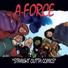 A-FORCE 1 VOL 2 RARE ADAM HUGHES NWA STR OUTTA COMPTON HIP HOP VARIANT