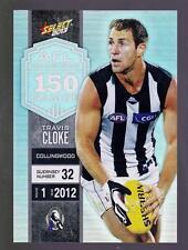 2013 Select Milestone Game Card -  Travis Cloke  MG13