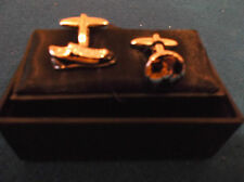 Football Boot and Ball Cufflink Set. Brand New in box. Made by Harvey Makin.