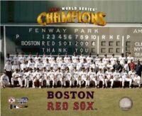 "Boston Red Sox 2004 World Series Team Photo (8"" x 10"")"