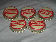 5 OLD VINTAGE 1940's DR. PEPPER SODA BOTTLE CAPS WINCHESTER VA NEW OLD STOCK!