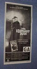 Original ELEPHANT MAN  Australian Insert  David Lynch + press #1