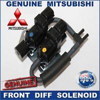 Mitsubishi 4WD 2006-2016 Front Diff Solenoid Freewheel Valve Pajero Triton Delic