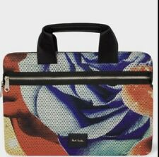 NEW Paul Smith Rose Collage laptop bag Mulicoloured