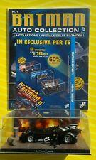 BATMAN AUTO COLLECTION 1 BATMOBILE DIORAMA 3D DC COMICS - EAGLEMOSS 2014