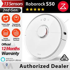 Roborock S50 S5 Robotic Robot Vacuum Cleaner Mi Jia App Genuine AUS Ver 2nd Gen
