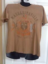 Jimmy Buffett Margaritaville Men's Medium Vintage Brown T-Shirt New With Tags