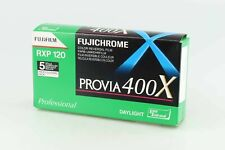 Fujichrome Provia 400X RXP 120 5 Rolls Fujifilm  MDH 2009-2015       87963-81