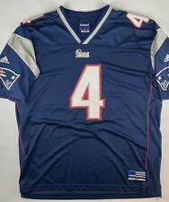 VTG ADIDAS Adam Vinatieri New England Patriots NFL Blue Jersey 2000 Mens XXL