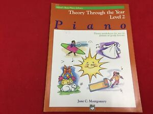 Alfred's Basic Piano Library - Theory Through the Year - Level 2 - 14535
