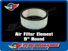 "REPLACEMENT AIR FILTER PAPER ELEMENT 9"" ROUND"