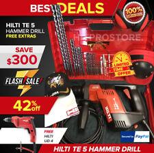 Hilti Te 5 Hammer Drill Great Condition Free Hilti Ud 4 Drill Free Shipping