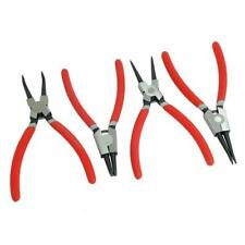 "4 Piece Large 9 "" Circlip Pliers Set internal and external jaws"