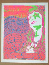 Frank Kozik - twenty years after - 1969-1989 signed concert poster