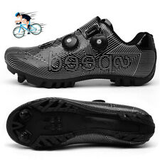 MTB Cycling Shoes Men Self-Locking Racing Road Mountain Bike Riding Shoe Sneaker