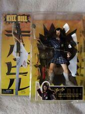 "KILL BILL ""Go-Go"" Series 1 Action Figure Sword, Sheath, Wooden Floor Base"