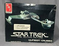 Star Trek The Motion Picture Klingon Cruiser Model Kit Complete/Open Box!