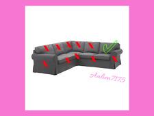 Part of IKEA EKTORP Corner sofa (Backrest Cover) Nordvalla Dark Gray 203.223.11