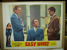 EASY MONEY, orig 1949 LC [Jack Warner, Greta Gynt on border]