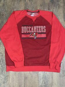 NFL Tampa Bay Buccaneers Sweatshirt   Men's XXL. RED. Team Apparel