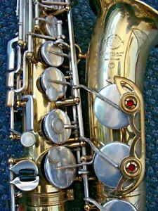 """Selmer Paris Mark VI Alto Saxophone In Good Condition """"original lacquer"""""""