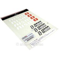 Nismo S-Tune S Tune Sticker Decal Sheet White 99992-RN241 Authentic Genuine