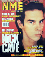 NME 9 MAY 1998 . NICK CAVE FRONT COVER . T IN THE PARK FESTIVAL . CREAMFIELDS