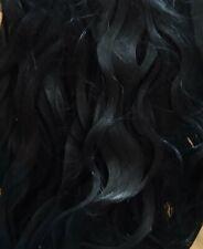 """PREMIUM MOHAIR Black  8"""", Reborn 1/2Oz"""