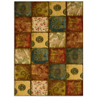 Artifact Panel Multi 5 Ft. X 8 Ft. Patchwork Area Rug