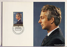 LIECHTENSTEIN  N°51 PRINCE HANS ADAM   Carte Postale Maximum  LIE28
