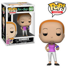Summer Rick and Morty Funko Pop Official Funko Vinyl Figure Collectables
