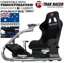 =.Premium Trak Racer Gaming Seat Racing Simulator RS6 Racer Race Cockpit