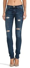 $249 Current Elliott The Skinny Jeans In Loved Destroy Distressed Blue 26 X 34