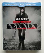MISSION IMPOSSIBLE - Ghost/Phantom-Protocol [Blu-ray im STEELBOOK] - wie Neu!