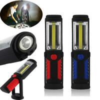Rechargeable COB+LED Hand Torch Lamp Magnetic Inspection Work Light Flexible SO
