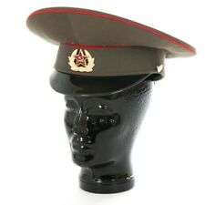 Soviet Union Red Army Officer's visor hat cap army military communist USSR CCCP