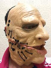 Corey MASCHERA in lattice Halloween Horror HEAVY METAL FANCY DRESS SLIPKNOT Costume maschere