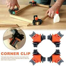 Woodworking 90° Right Angle Picture Frame Corner Clamp Clip Holder Tools