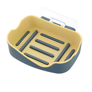Large Buckle Soap Dish Holder Storage Box Travel Camping Case Rack Container