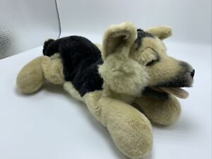 "German Shepherd 9"" Shepard Realistic Dog Plush Stuffed Animal"