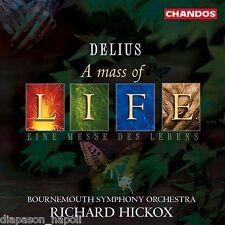 Delius: A Mass Of Life, Requiem / Hickox, Bournemouth So - CD