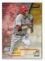 2018 Topps stadium club baseball gold parallel /50 Never Compromise Joey Votto