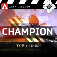 APEX Legends: The Champion / Top 1 Finish | High Priority, Fast Delivery | PS4