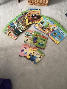 Leapfrog tag books lot