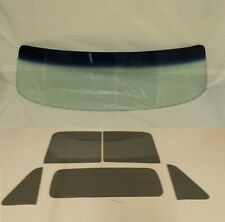 Glass 1954 Chevy GMC Pickup Tint Shaded Windshield Grey Vent Door Center Back